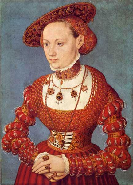 Lucas Cranach, Agnes von Hayn, Staatsgalerie Stuttgart