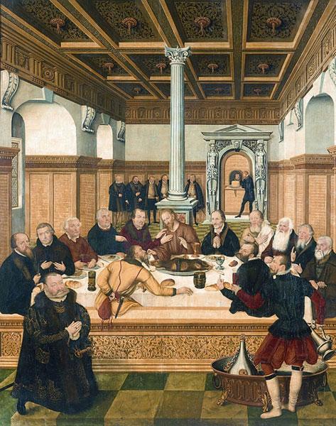Lucas Cranach, Das Abendmahl, Dessau
