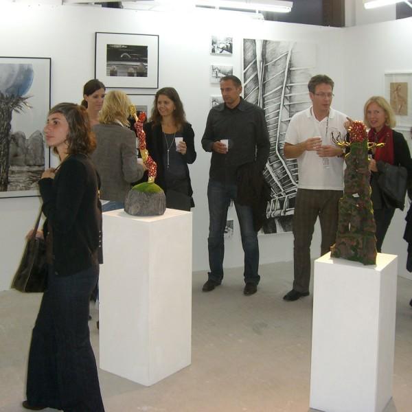 Kunstmesse Berliner Liste 2009, Stand Galerie Frenhofer