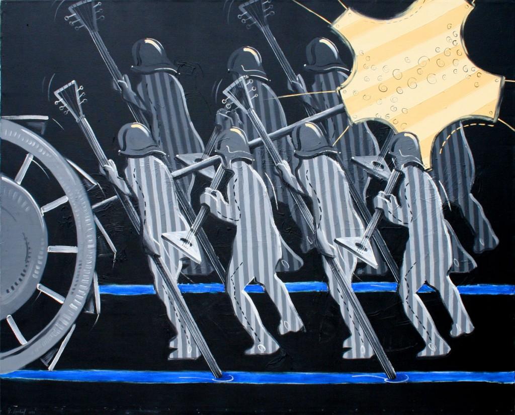Thomas Michel, Malerei, Zweistromland