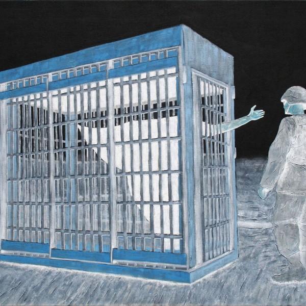 Thomas Michel, Das Gespenst der Freiheit, Öl auf Leinwand, 2006, 120x170 cm