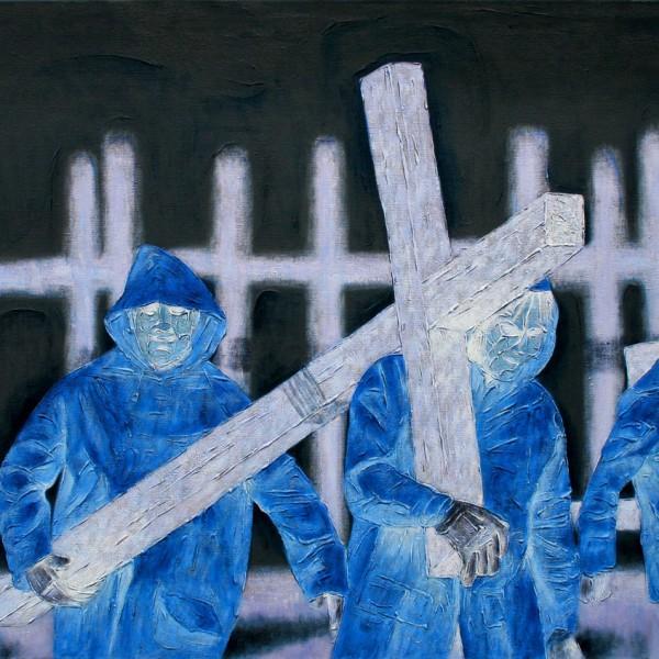 Thomas Michel, Rainy Season, oil on canvas, 2005, 120x170 cm