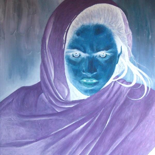 Thomas Michel, Silent Scream, oil on canvas, 2007, 150x130 cm