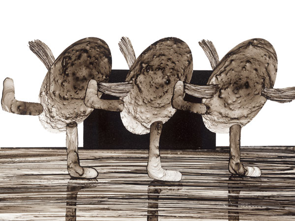 Thomas Michel, Modest Mussorgsky, Bilder einer Ausstellung, Ballett der Küchlein in ihren Eierschalen