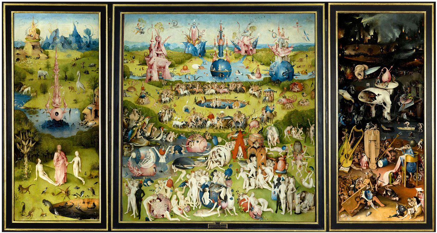 Hieronymus Bosch, The Garden of Earthly Delights