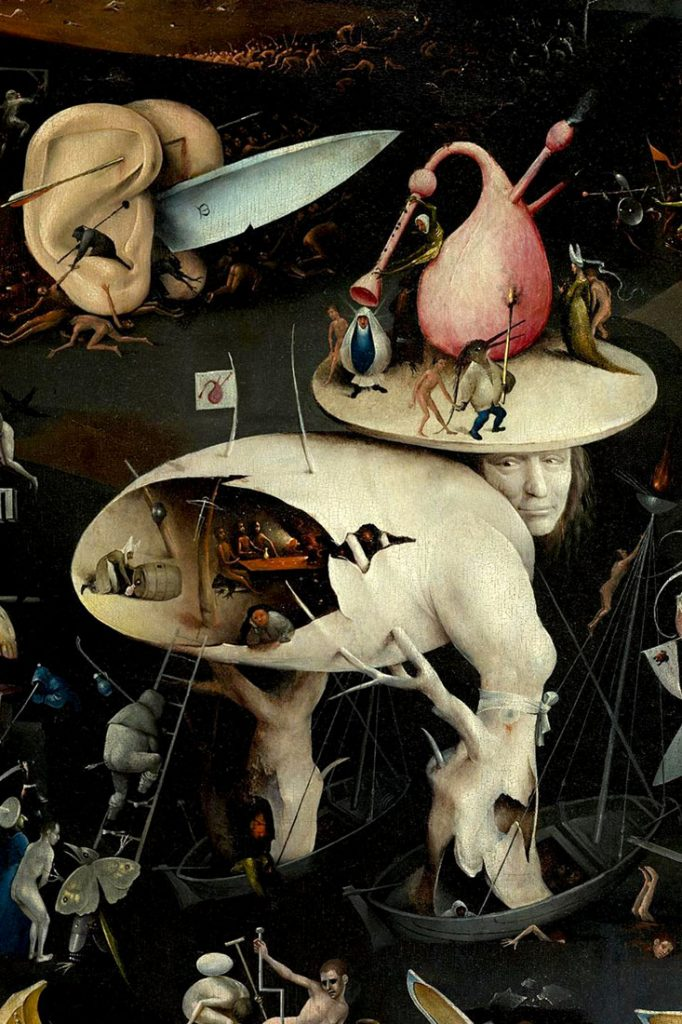Hieronymus Bosch, The Garden of Earthly Delights, Hell wing