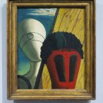 Giorgio de Chirico, Two Sisters (The Jewish Angel), 1915, Kunstsammlung Nordrhein-Westfalen, Düsseldorf (formerly collection R. Penrose)