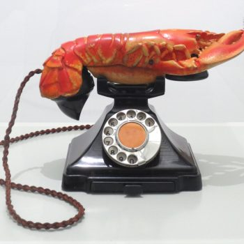 Salvador Dalí, Aphrodisiac Telephone, 1938, West Dean College, Edward James Foundation (formerly collection E. James)