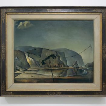 Salvador Dalí, Mountain Lake, 1938, Tate, London (formerly collection E. James)