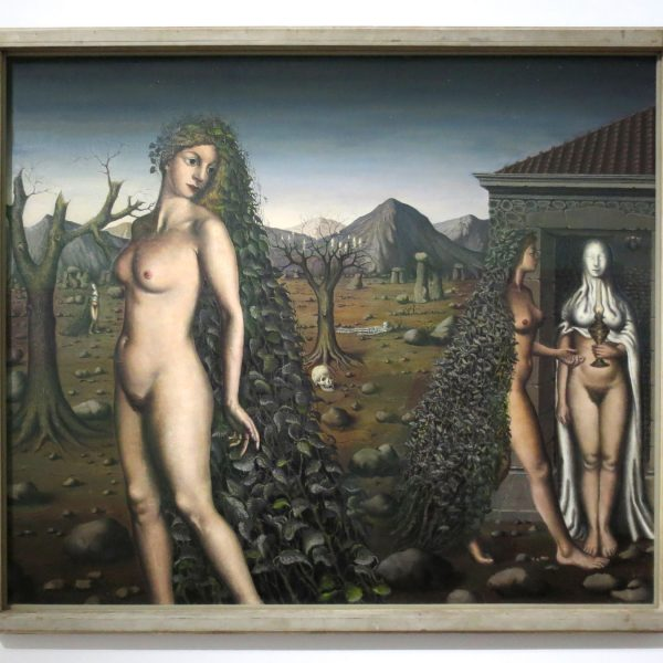 Paul Delvaux, Ruf der Nacht, 1938, Scottish National Gallery of Modern Art, Edinburgh (ehemals Sammlung R. Penrose)