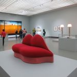 Salvador Dalí, Mae West Lips Sofa, 1938, Museum Boijmans Van Beuningen, Rotterdam (formerly collection E. James)