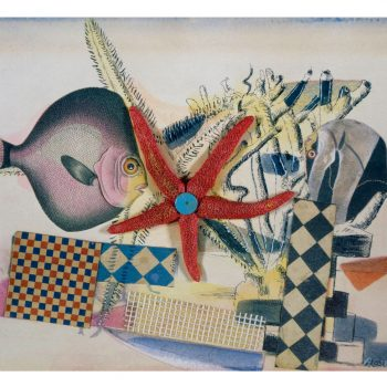 Eileen Agar, Der Fischzirkus, 1939, Scottish National Gallery of Modern Art, Edinburgh (ehemals Sammlung G. Keiller)