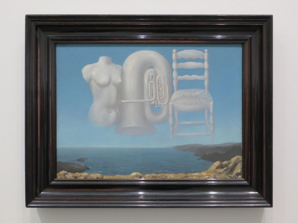 René Magritte, Bedrohliches Wetter, 1929, Scottish National Gallery of Modern Art, Edinburgh (ehemals Sammlung R. Penrose)