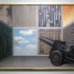 René Magritte, On the Threshold of Liberty, 1930, Museum Boijmans Van Beuningen, Rotterdam (formerly collection E. James)