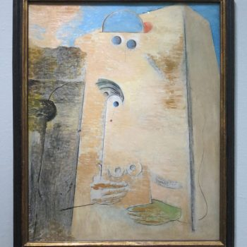 Max Ernst, Der große Liebhaber I, 1926, Scottish National Gallery of Modern Art, Edinburgh (erworben 1980, als G. Keiller Mitglied der Ankaufskommission war)