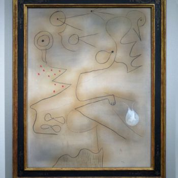Joan Miró, Malerei, 1925, Scottish National Gallery of Modern Art, Edinburgh (erworben 1979, als G. Keiller Mitglied der Ankaufskommission war)