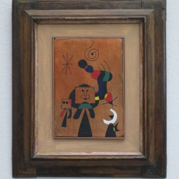 Joan Miró, Women and Birds in the Night, 1946, collection Ulla and Heiner Pietzsch