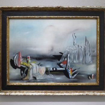 Yves Tanguy, The Unexpected Guests II, 1942, collection Ulla and Heiner Pietzsch