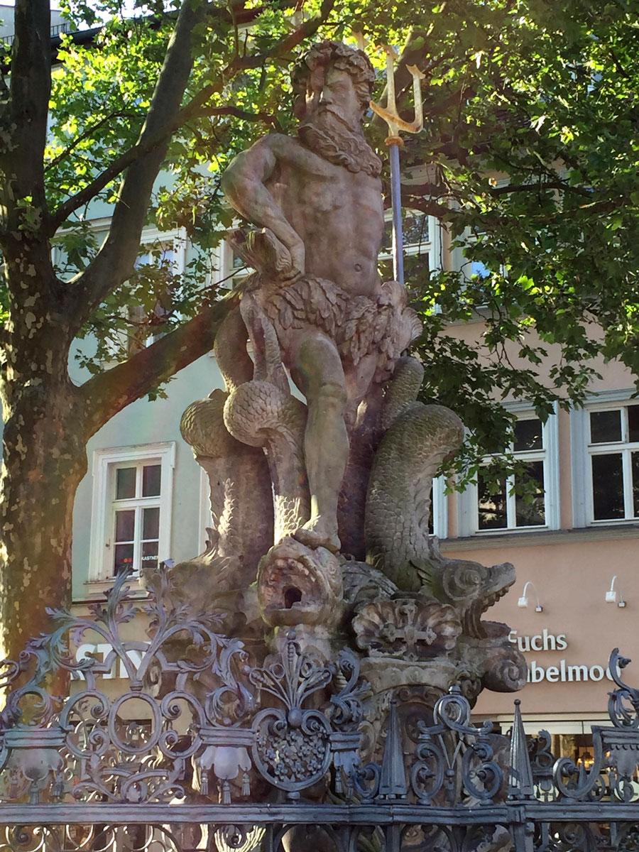 Bamberg, Gabelmann, Grüner Markt