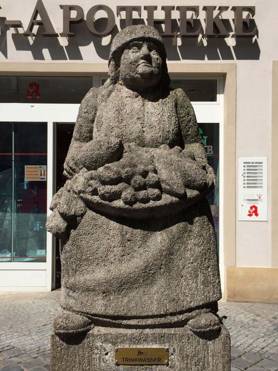 Bamberg, Humsera, Grüner Markt