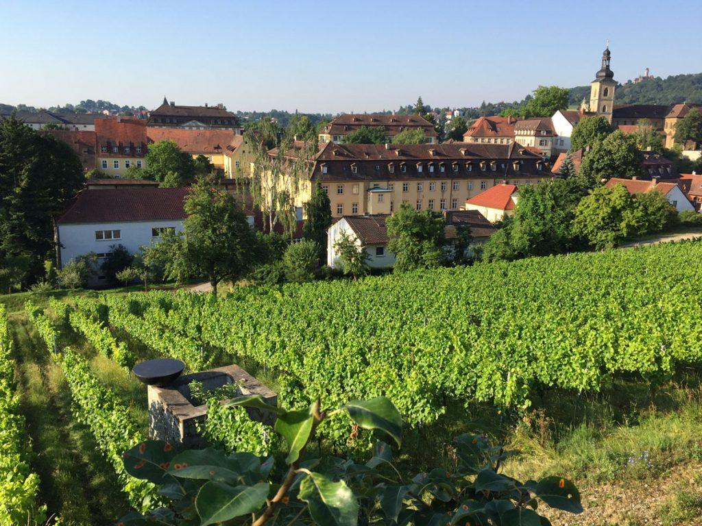 Bamberg, Kazuo Katase, Wandelung, Kamerathengarten Kloster Michaelsberg