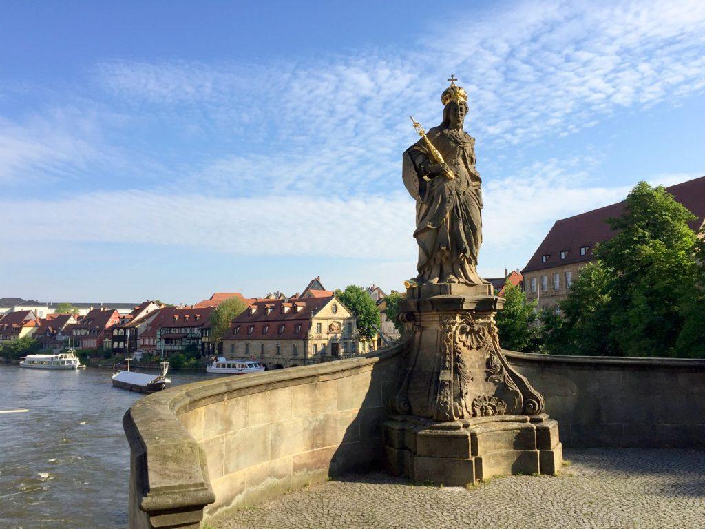 Bamberg, Hl. Kunigunde, Untere Brücke