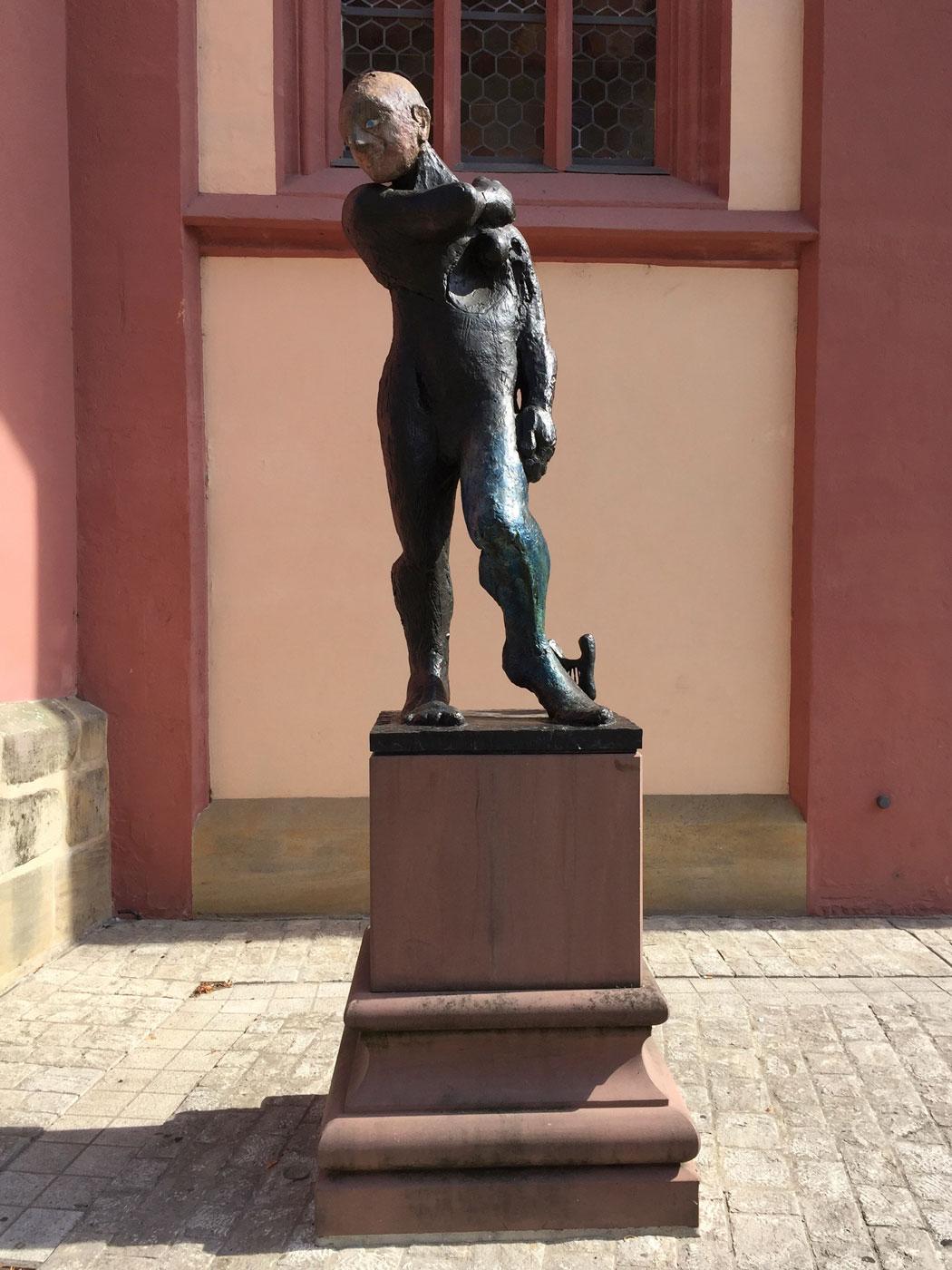 Bamberg, Markus Lüpertz, Apoll, Obere Sandstraße