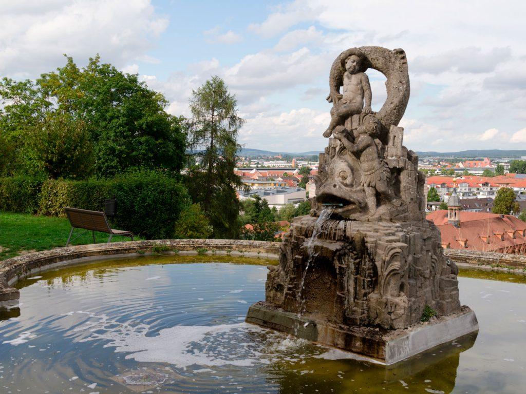 Bamberg, Michaelsberg, Delphinbrunnen