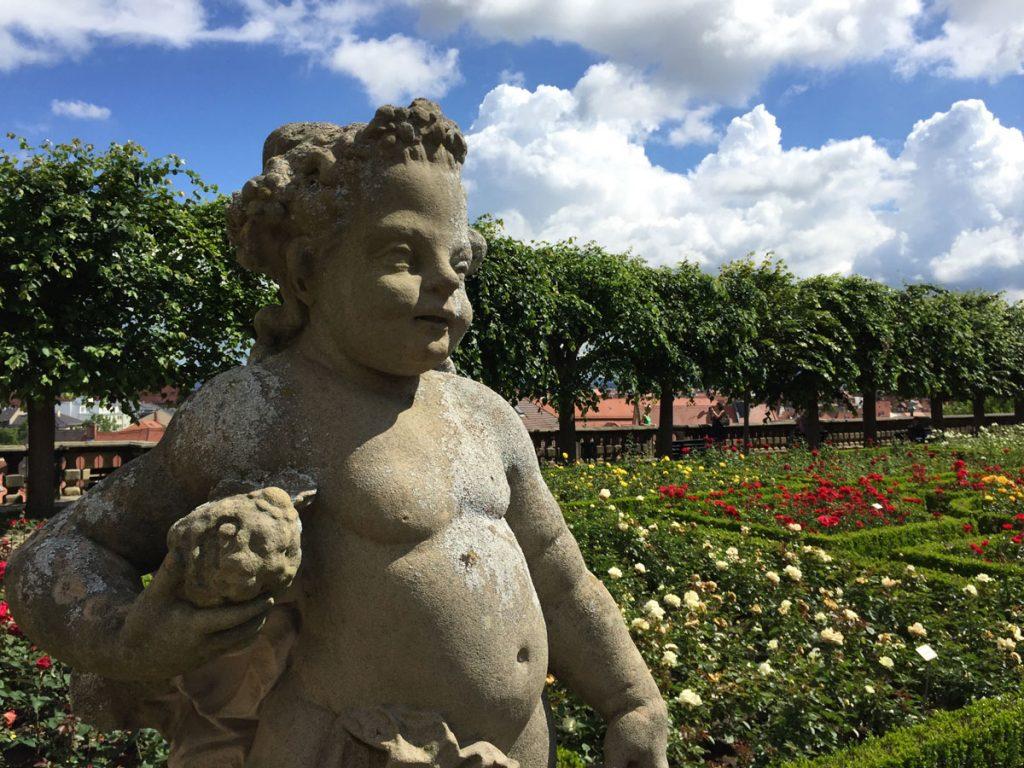 Bamberg, Rosengarten, Neue Residenz