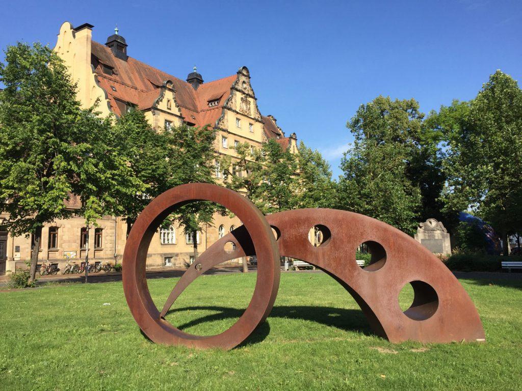 Bamberg, Bernd Wagenhäuser, Ohne Titel, Markusplatz