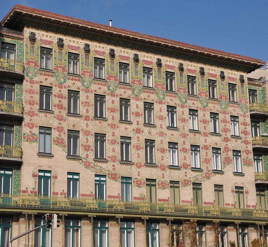 Otto Wagner, Majolika Haus