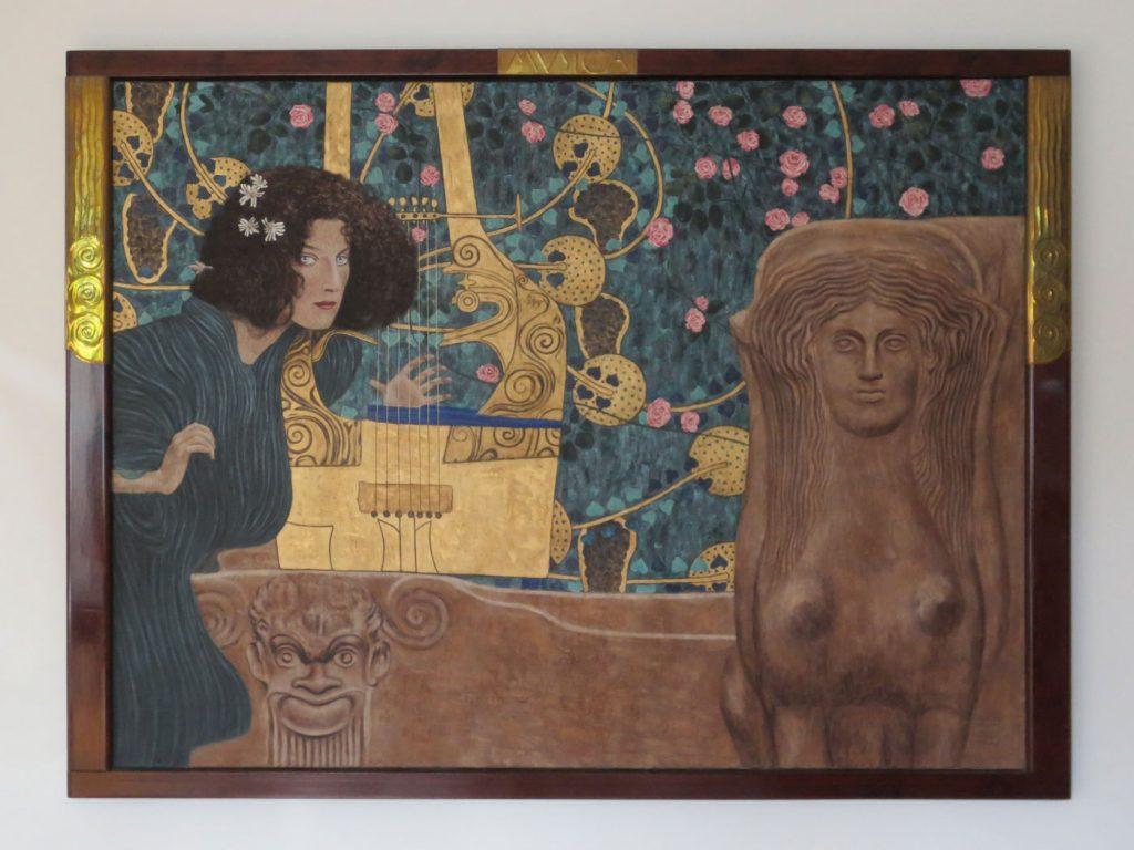 Gustav Klimt, Die Musik II