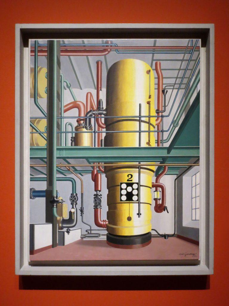 Glanz und Elend in der Weimarer Republik, Carl Grossberg, Der gelbe Kessel, 1933