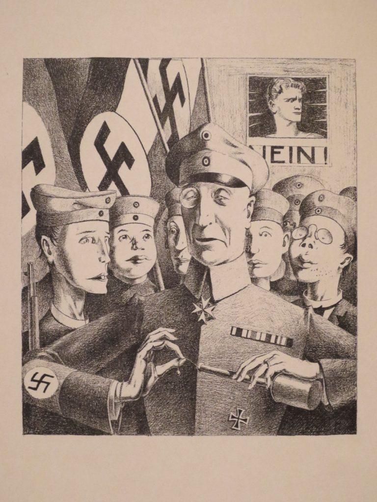 Glanz und Elend in der Weimarer Republik, Georg Scholz, Vaterländische Erziehung