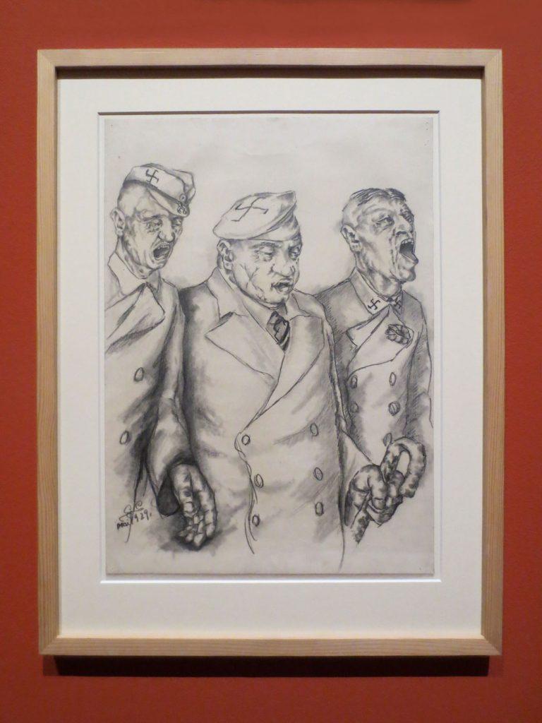 Glanz und Elend in der Weimarer Republik, Gerd Graetz, Johlende Nationalsozialisten