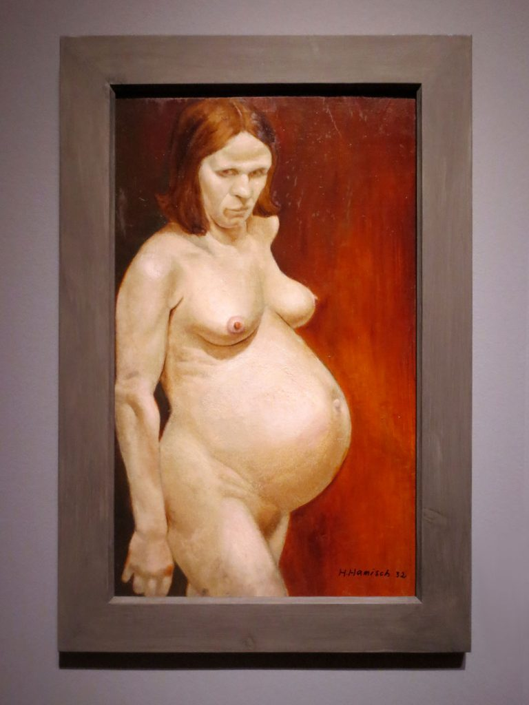 Glanz und Elend in der Weimarer Republik, Hainz Hamisch, Schwangere