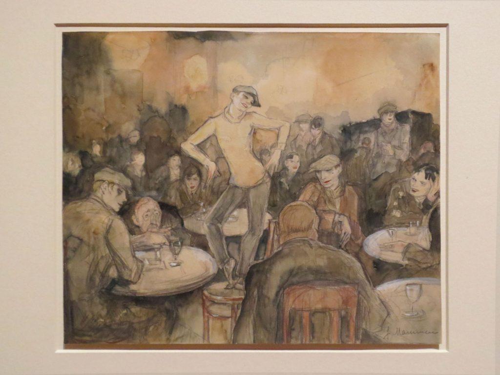 Glanz und Elend in der Weimarer Republik, Jeanne Mammen, Transvestitenlokal, 1931