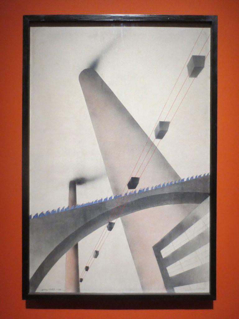 Glanz und Elend in der Weimarer Republik, Oskar Nerlinger, An die Arbeit, 1930