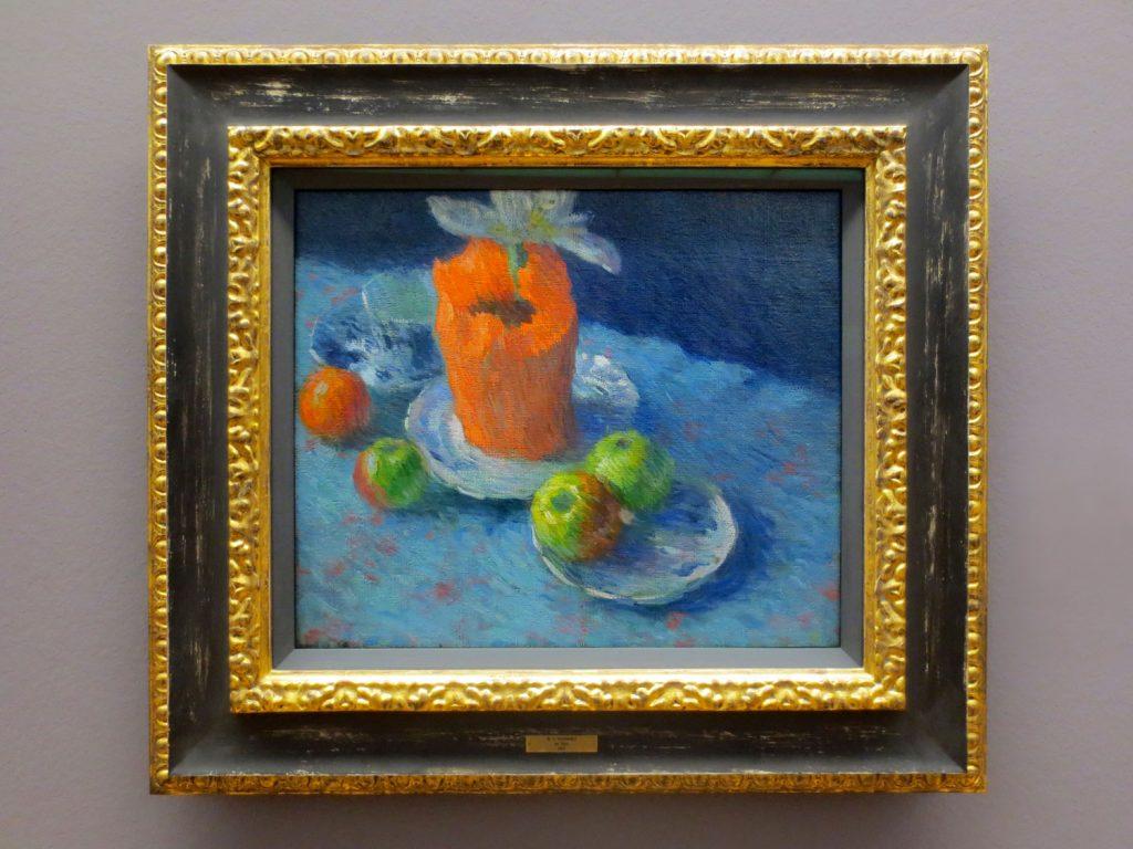 Back to Paradise - Meisterwerke des Expressionismus, Alexej von Jawlensky, Stillleben En Bleu, 1902