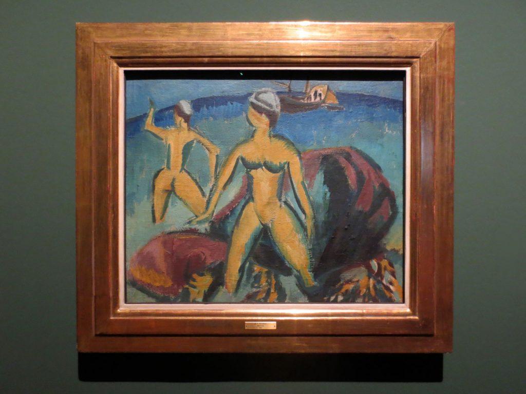 Back to Paradise - Meisterwerke des Expressionismus, Ernst Ludwig Kirchner, Badende, 1912