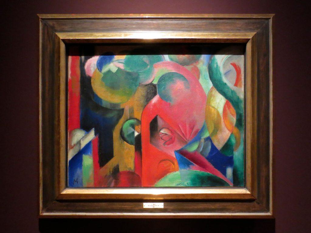 Back to Paradise - Meisterwerke des Expressionismus, Franz Marc, Kleine Komposition III, 1913/14