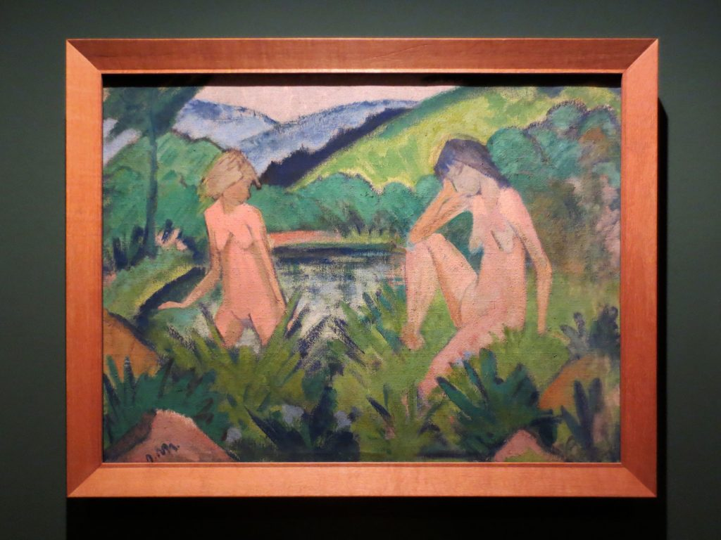 Back to Paradise - Meisterwerke des Expressionismus, Otto Mueller, Mädchen am Wasser, 1926