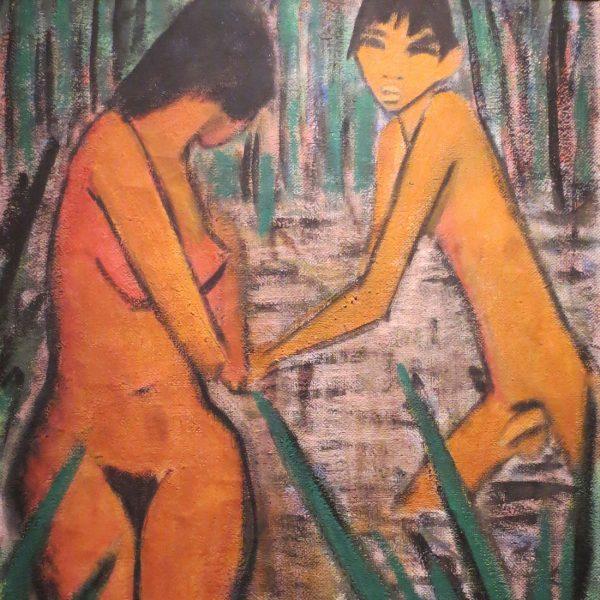 Back to Paradise - Meisterwerke des Expressionismus, Otto Mueller, Badende, 1920