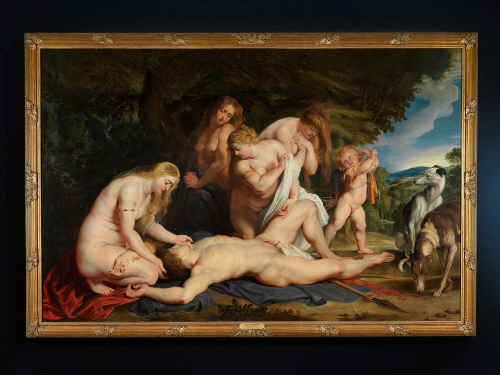 Peter Paul Rubens, The Death of Adonis, 1614, The Israel Museum, Jerusalem