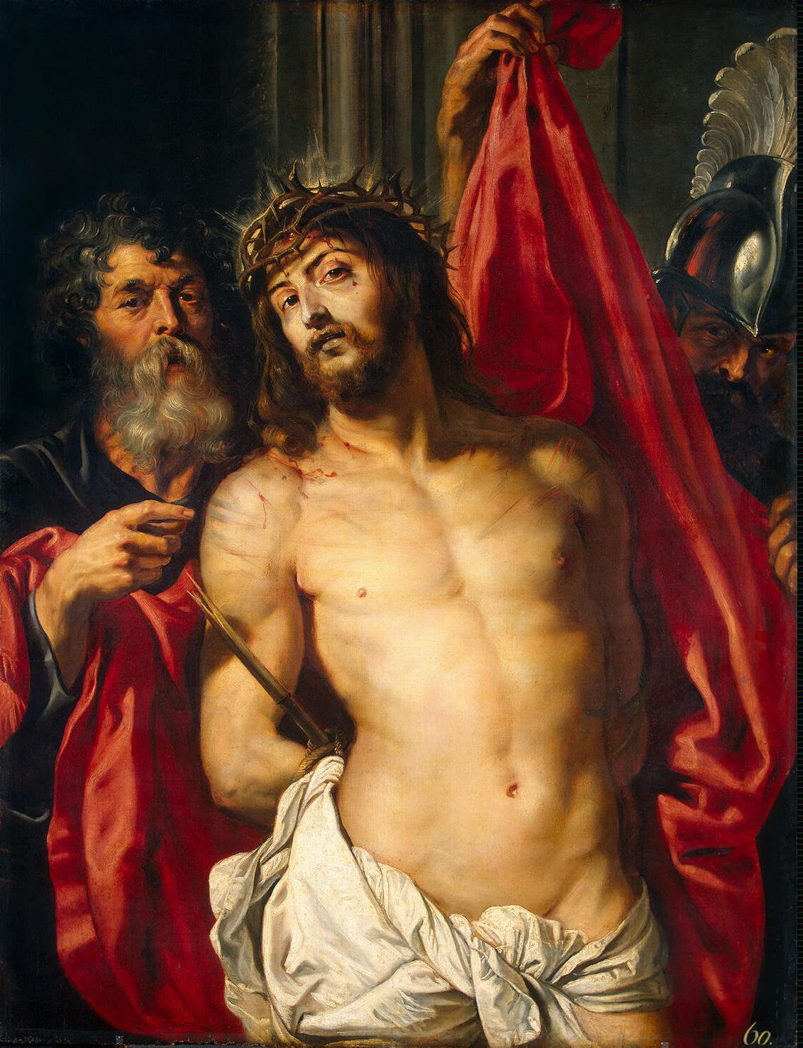 Peter Paul Rubens Ecce Homo, No later than 1612, Set State Hermitage Museum, St. Petersburg
