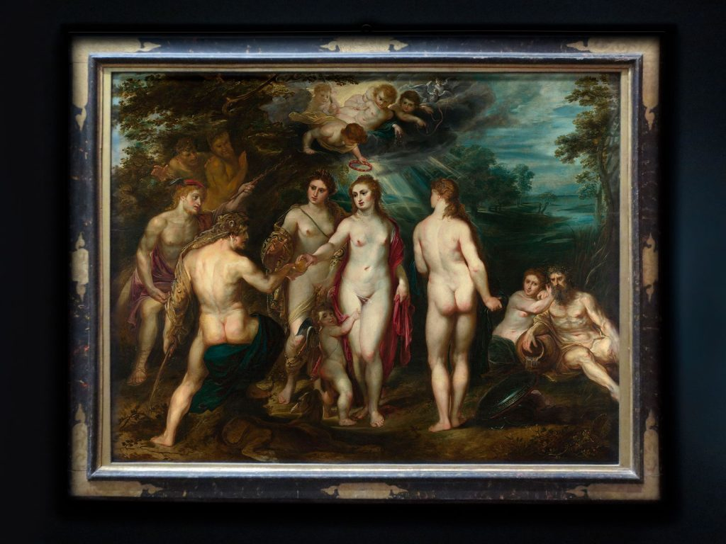 Peter Paul Rubens, The Judgement of Paris, 1597-99, National Gallery, London