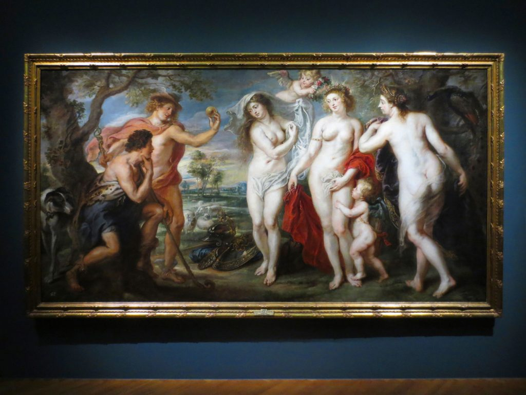 Peter Paul Rubens, The Judgement of Paris, 1638, Museo del Prado, Madrid