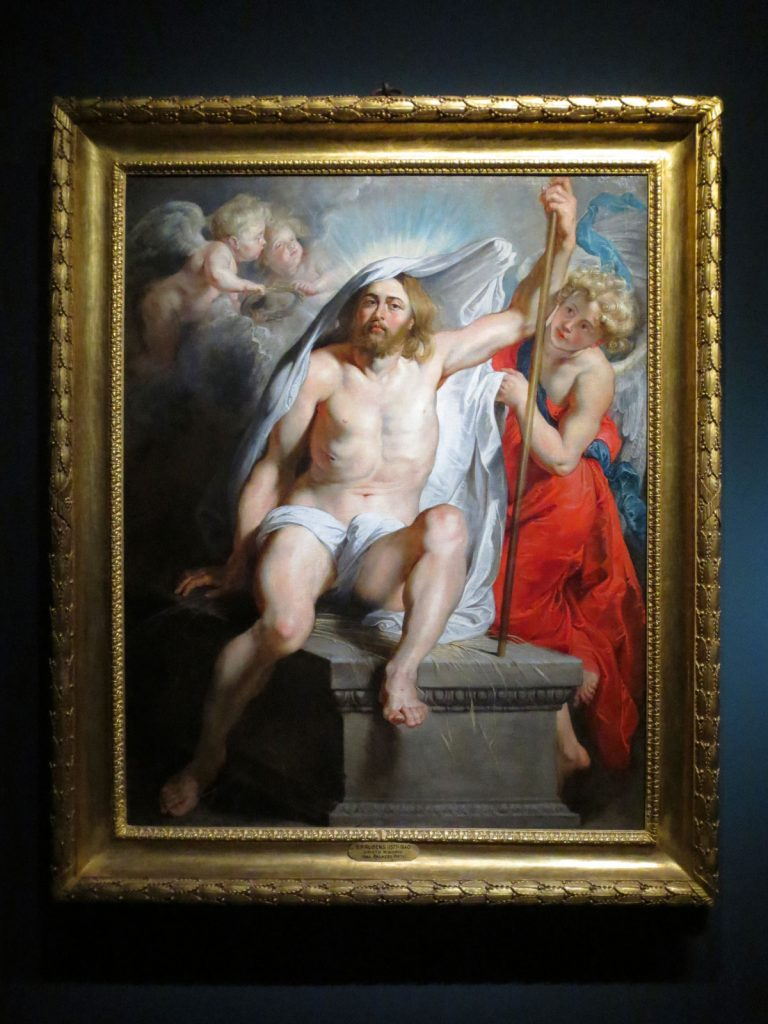 Peter Paul Rubens, The Resurrection of Christ, 1616, Palazzo Pitti, Florence