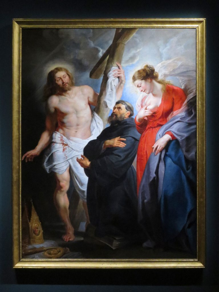 Peter Paul Rubens, Saint Augustine between Christ and Mary, 1615, Real Acedemia de Bellas Artes