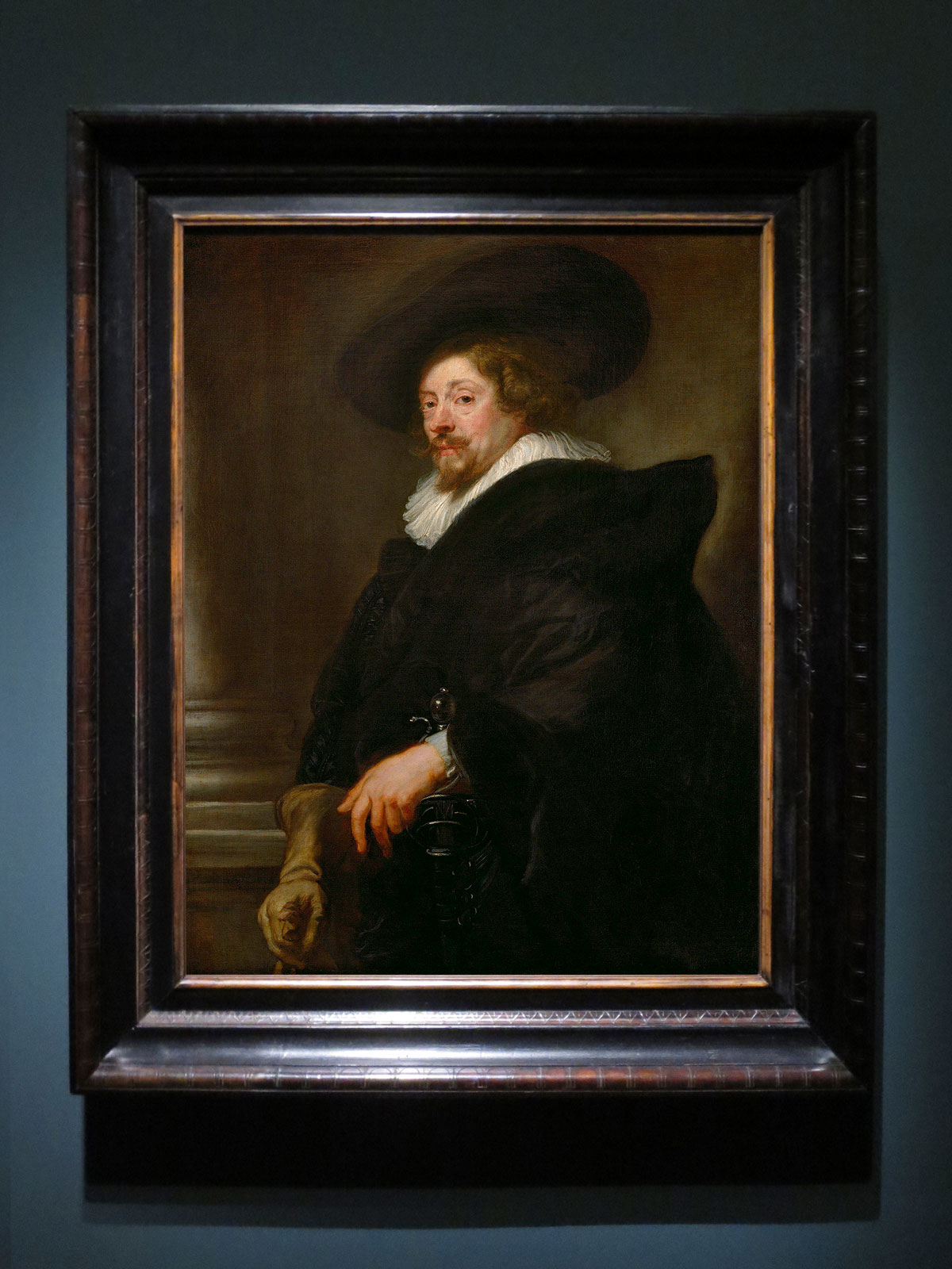 Peter Paul Rubens, Self-Portrait, 1638-39, Kunsthistorisches Museum Wien
